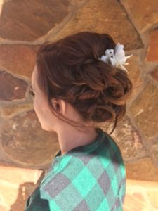 updo, wedding hair