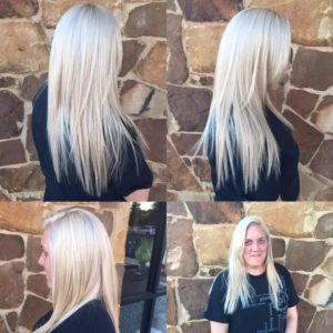 platinum blonde, organic hair color